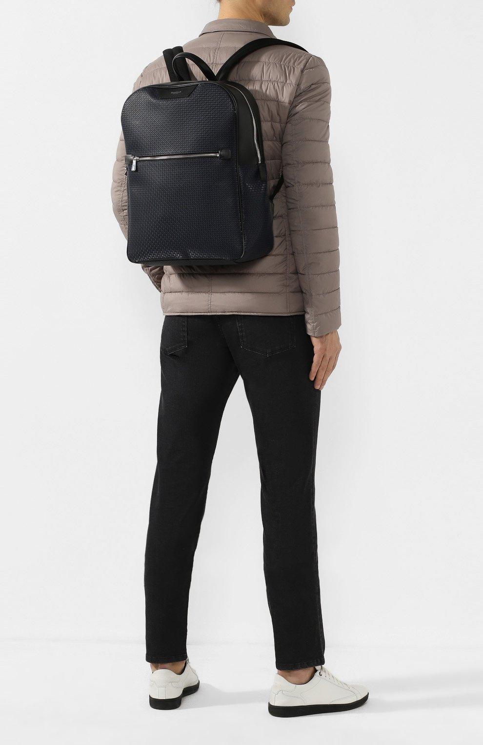 Мужской рюкзак stepan SERAPIAN темно-синего цвета, арт. SSTEPMLL7006M31D   Фото 2