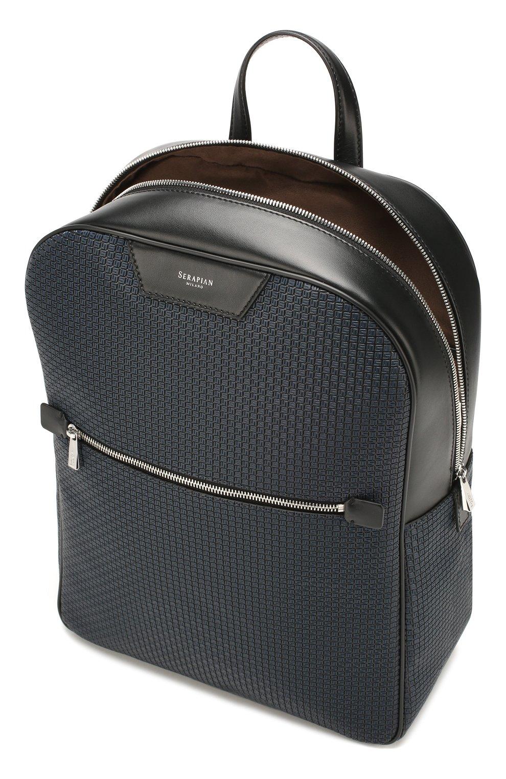 Мужской рюкзак stepan SERAPIAN темно-синего цвета, арт. SSTEPMLL7006M31D   Фото 4