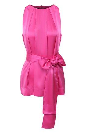 Женский топ с поясом ESCADA розового цвета, арт. 5032514 | Фото 1