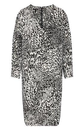 Женское платье из вискозы ESCADA леопардового цвета, арт. 5032588 | Фото 1