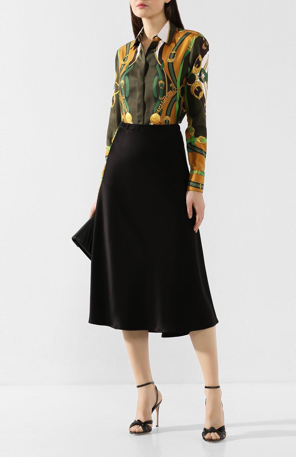 Женская юбка-миди ESCADA черного цвета, арт. 5032905   Фото 2