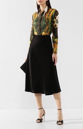 Женская юбка-миди ESCADA черного цвета, арт. 5032905 | Фото 2