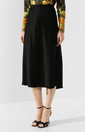 Женская юбка-миди ESCADA черного цвета, арт. 5032905   Фото 3