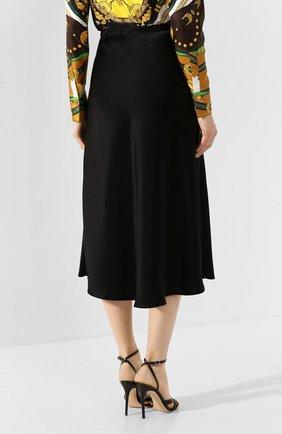 Женская юбка-миди ESCADA черного цвета, арт. 5032905   Фото 4