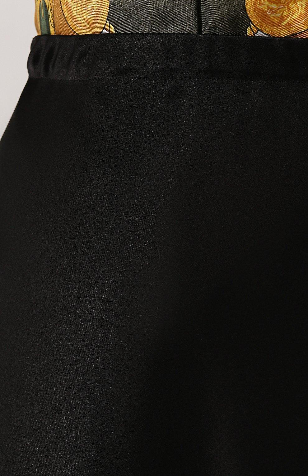Женская юбка-миди ESCADA черного цвета, арт. 5032905   Фото 5
