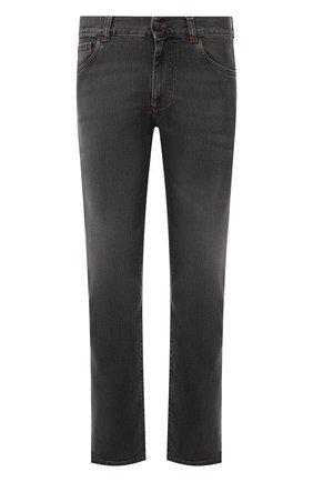 Мужские джинсы CANALI серого цвета, арт. 91700/PD00003 | Фото 1