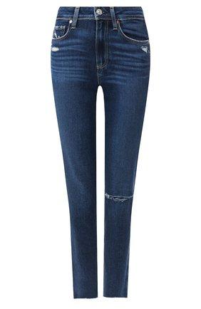 Женские джинсы PAIGE синего цвета, арт. 4875F72-7480 | Фото 1