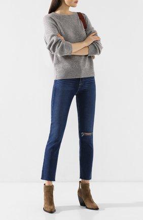 Женские джинсы PAIGE синего цвета, арт. 4875F72-7480 | Фото 2