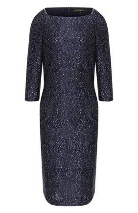 Женское платье ST. JOHN темно-синего цвета, арт. K12Y082 | Фото 1
