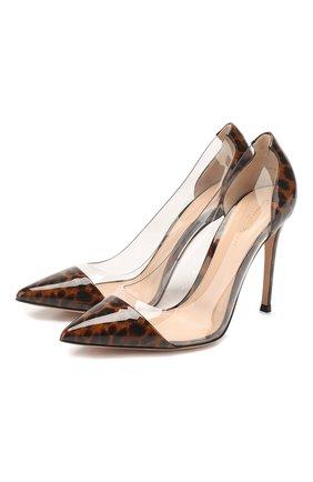 Кожаные туфли Plexi | Фото №1