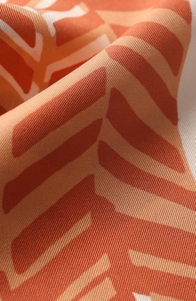 Мужские шелковый шарф LORO PIANA розового цвета, арт. FAI9816 | Фото 2