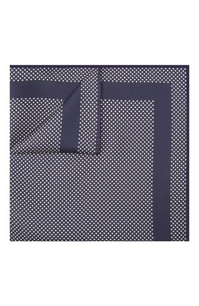 Мужской шелковый платок TOM FORD синего цвета, арт. 7TF95/TF312 | Фото 1