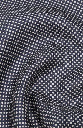 Мужской шелковый платок TOM FORD синего цвета, арт. 7TF95/TF312 | Фото 2