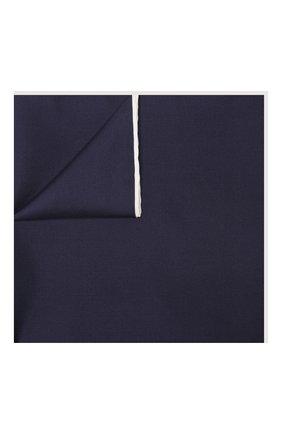 Мужской шелковый платок TOM FORD синего цвета, арт. TFZ90/TF312 | Фото 1