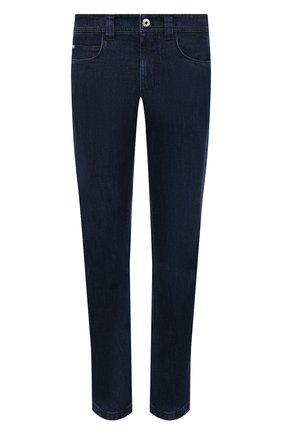 Мужские джинсы LORO PIANA темно-синего цвета, арт. FAF8318 | Фото 1
