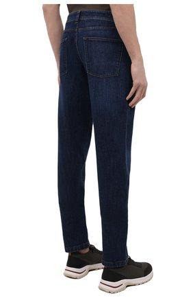 Мужские джинсы LORO PIANA темно-синего цвета, арт. FAF8318 | Фото 4