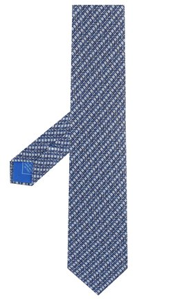 Мужской комплект из галстука и платка BRIONI голубого цвета, арт. 08A900/P942I   Фото 2