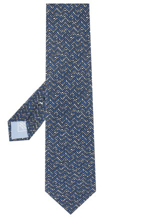 Мужской комплект из галстука и платка BRIONI синего цвета, арт. 08A900/P942Y   Фото 2