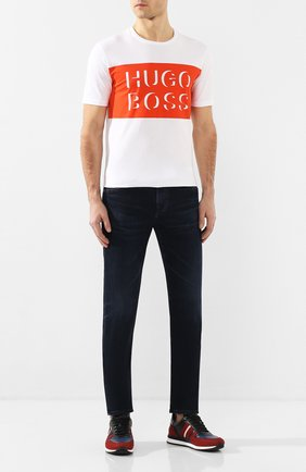 Мужские джинсы AG темно-синего цвета, арт. 1783LED/04YCAS | Фото 2
