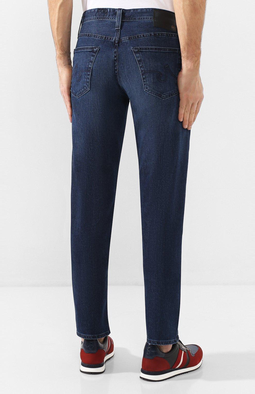 Мужские джинсы AG синего цвета, арт. 1174LED/JMST   Фото 4