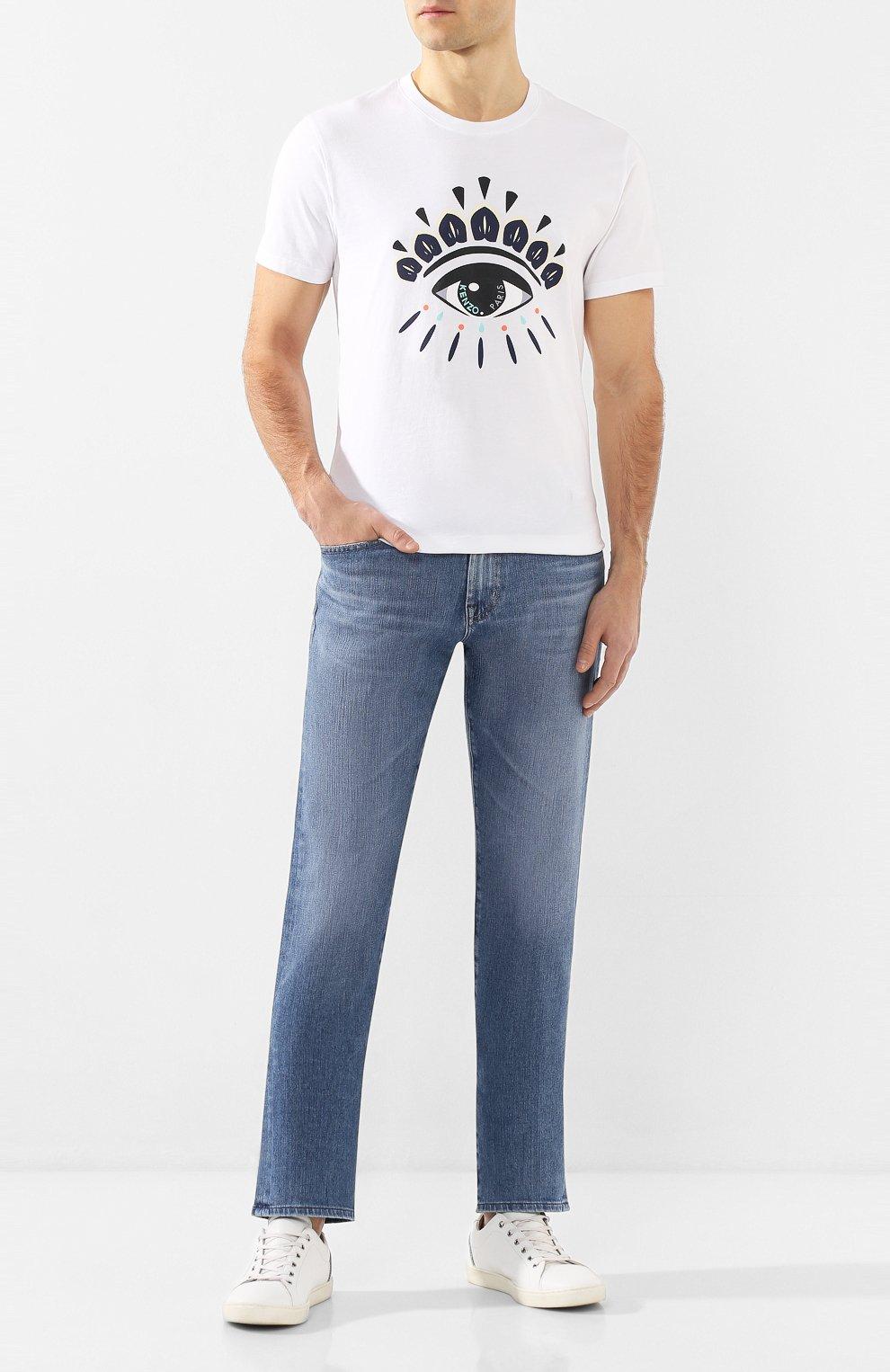 Мужские джинсы AG синего цвета, арт. 1174FXD/NARR | Фото 2