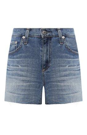 Женские джинсовые шорты AG голубого цвета, арт. LED1714RH/20YDUP | Фото 1