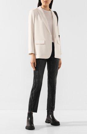 Женские джинсы AG серого цвета, арт. BKS1676TS/PRVC | Фото 2