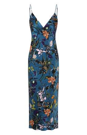 Женская шелковая сорочка OLIVIA VON HALLE разноцветного цвета, арт. PS2036 | Фото 1