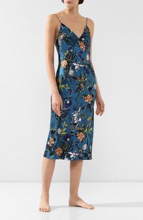 Женская шелковая сорочка OLIVIA VON HALLE разноцветного цвета, арт. PS2036 | Фото 2