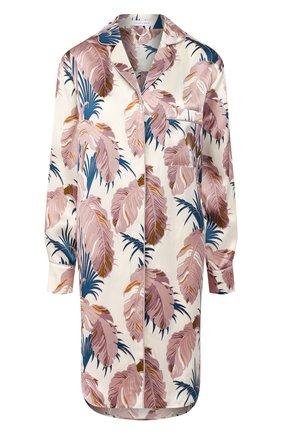 Женская шелковая сорочка OLIVIA VON HALLE разноцветного цвета, арт. PS2040 | Фото 1