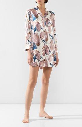 Женская шелковая сорочка OLIVIA VON HALLE разноцветного цвета, арт. PS2040 | Фото 2