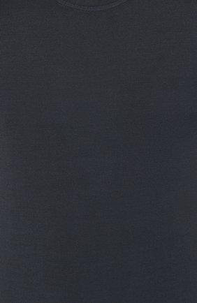 Мужская хлопковая футболка CAPOBIANCO темно-синего цвета, арт. 8M660.AL01. | Фото 5