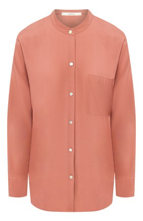 Женская рубашка из вискозы VINCE розового цвета, арт. V630012261 | Фото 1