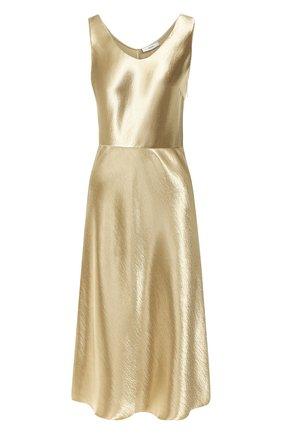 Женское платье VINCE золотого цвета, арт. V630251109 | Фото 1