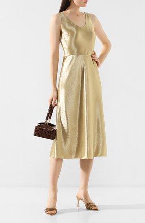 Женское платье VINCE золотого цвета, арт. V630251109 | Фото 2