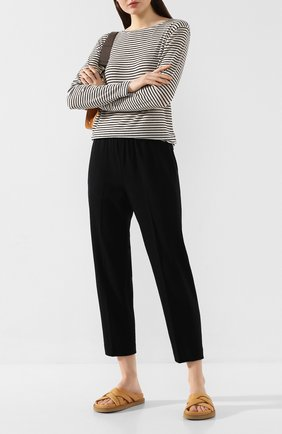 Женские брюки VINCE черного цвета, арт. V631021744 | Фото 2