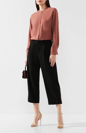 Женские брюки VINCE черного цвета, арт. V633121736 | Фото 2