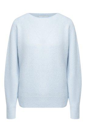 Женская кашемировый пуловер VINCE голубого цвета, арт. V634778397 | Фото 1
