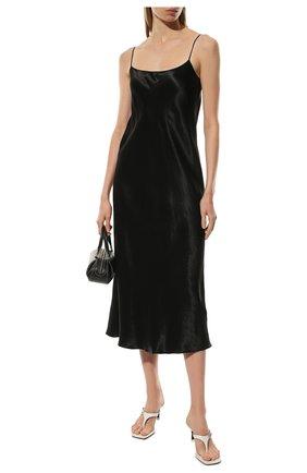 Женское платье VINCE черного цвета, арт. VR68551013 | Фото 2