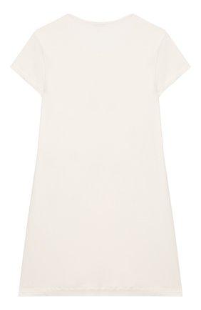 Детская сорочка LA PERLA кремвого цвета, арт. 71063/2A-6A | Фото 2