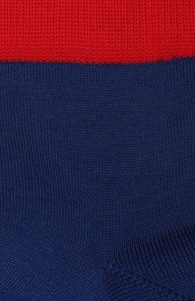 Детские хлопковые носки LA PERLA синего цвета, арт. 42033/9-12 | Фото 2