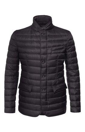 Мужская пуховая куртка HERNO черного цвета, арт. PI0539U/12020   Фото 1