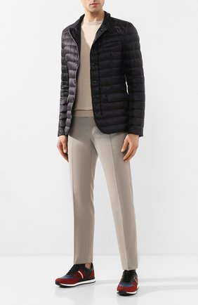 Мужская пуховая куртка HERNO черного цвета, арт. PI0539U/12020   Фото 2