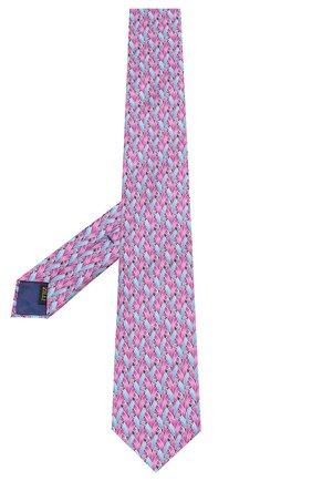 Мужской шелковый галстук ZILLI серого цвета, арт. 50209/TIES | Фото 2
