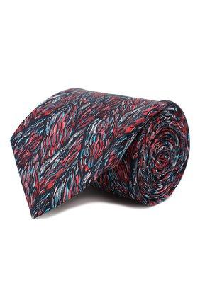 Мужской шелковый галстук ZILLI голубого цвета, арт. 50218/TIES | Фото 1