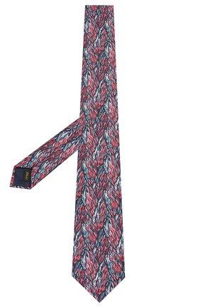 Мужской шелковый галстук ZILLI голубого цвета, арт. 50218/TIES | Фото 2