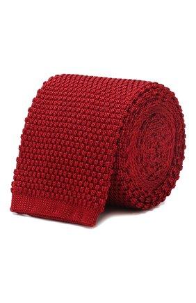 Мужской шелковый галстук CORNELIANI красного цвета, арт. 85U314-0120389/00   Фото 1