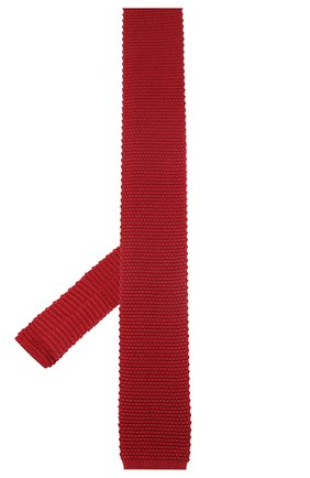 Мужской шелковый галстук CORNELIANI красного цвета, арт. 85U314-0120389/00   Фото 2