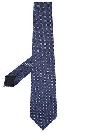 Мужской шелковый галстук CORNELIANI темно-синего цвета, арт. 85U302-0120374/00 | Фото 2