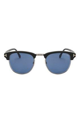Мужские солнцезащитные очки TOM FORD черного цвета, арт. TF248 02X | Фото 3